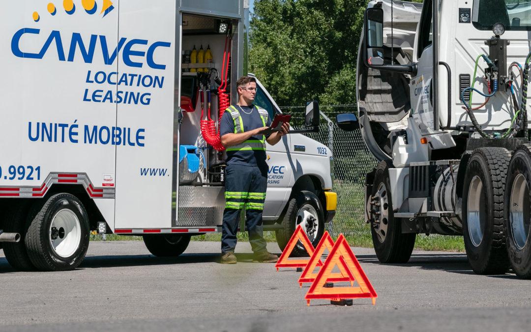 Location Canvec annonce l'implantation de son service d'assistance routière 24/7sur le marché Ontarien