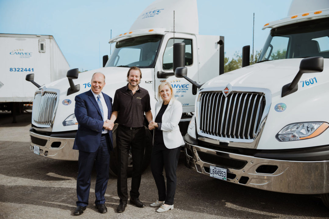 Canvec Leasing acquires new trucks to offer a full 360° range of solutions to all of its customers