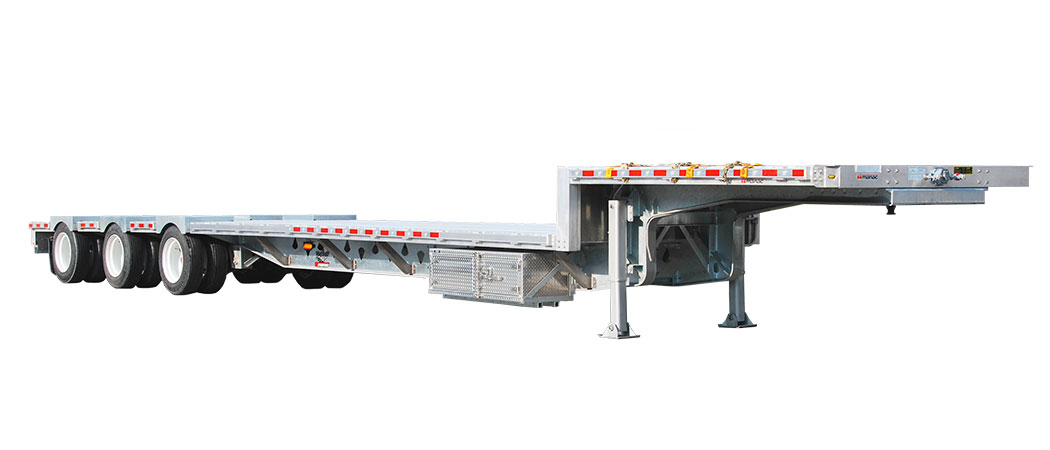 Step Deck Trailer >> Drop Deck Flatbed Trailer Rental Canvec Leasing